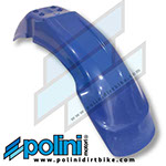 POLINI X3 FRONT FENDER BLUE