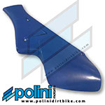 POLINI X3/X5 Right Side NUMBER PLATE (BLUE)